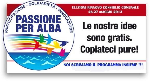 Il gruppo Passione per Alba Adriatica scrive una lettera immaginando una città diversa
