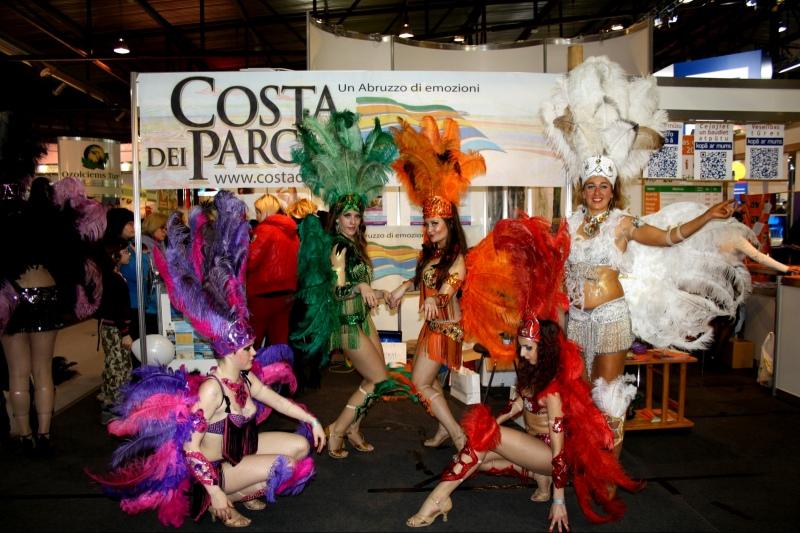 Lo stand di Alba Adriatica presente alla fiera internazionale del turismo Baltour 2013