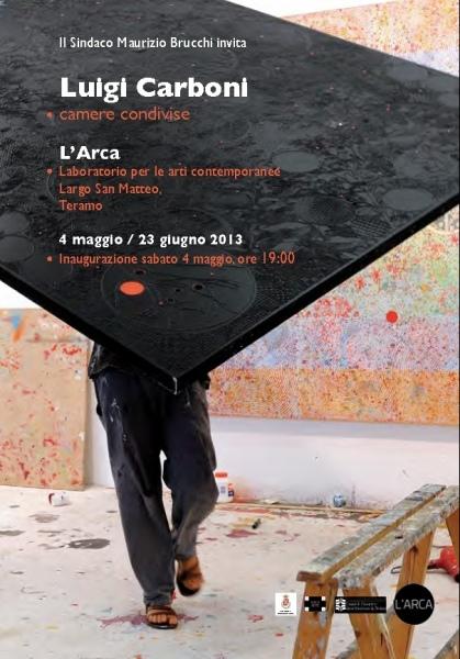 """""""Camere condivise"""" la mostra d'arte in scena di Luigi Carboni dal 4 maggio al 23 giugno"""
