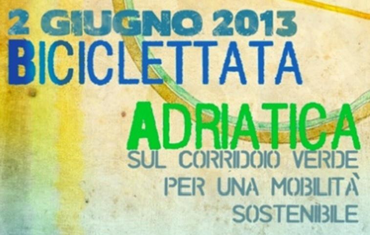 """Straordinaria """"Biciclettata Adriatica"""" in arrivo il 2 giugno, obiettivo sensibilizzazione"""