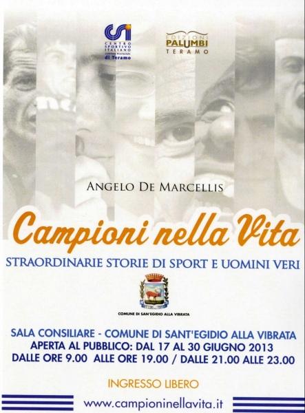 """Una mostra sui """"Campioni della vita"""" nello sport, dal 17 al 30 giugno in Comune"""
